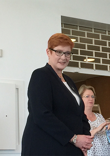 Marise Payne_success stories