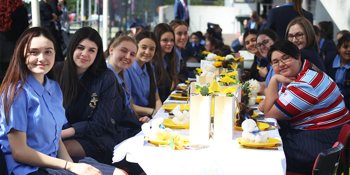 Year 12 house lunch 2018